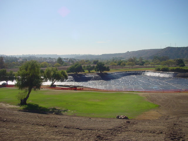 Admiral Baker Golf Course New 7 Acre Irrigation Lake